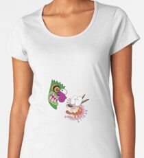 Courage the Cowardly Dog Women's Premium T-Shirt