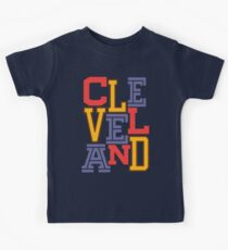 CLEVELAND Team Triple Threat Kids Tee