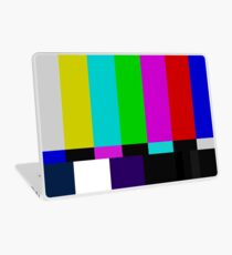 TV bars color test Laptop Skin