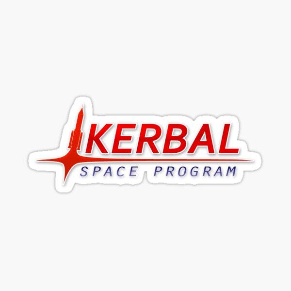 Kerbal Space Program Logo Sticker