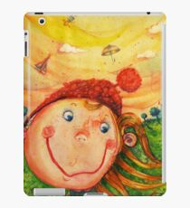 "Colored pencil ""Childhood fantasies"" iPad Case/Skin"
