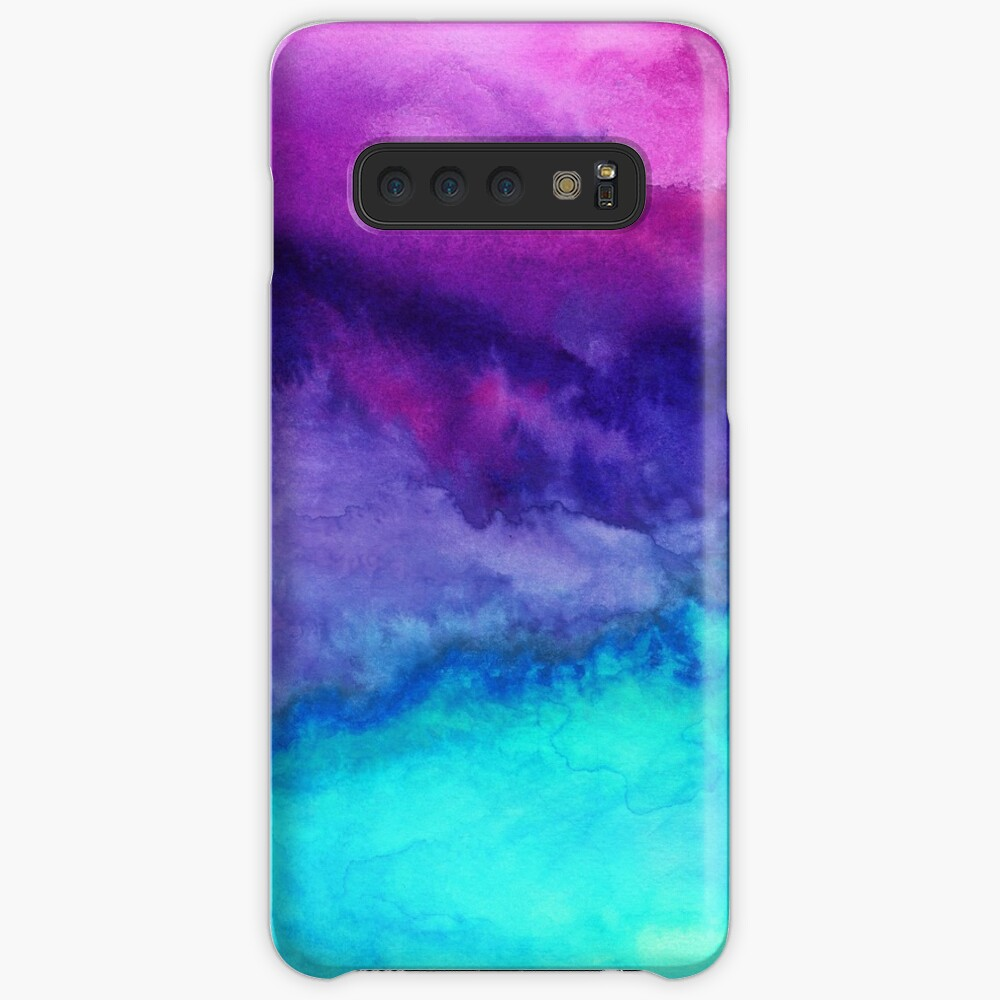 The Sound - Abstract Ombre Watercolor Case & Skin for Samsung Galaxy