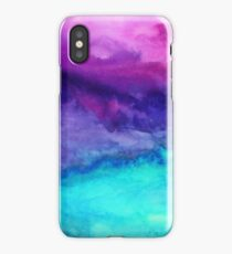 The Sound - Abstract Ombre Watercolor iPhone Case