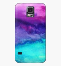 Funda/vinilo para Samsung Galaxy El sonido - Abstract Ombre Watercolor