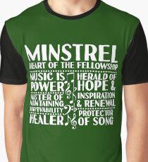 Minstrel - LoTRO Graphic T-Shirt