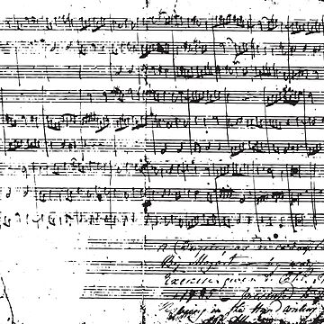 Mozart Manuscript by breenichols