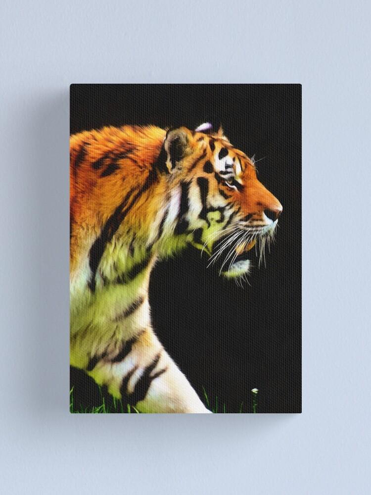 Alternate view of EDDIE'S TIGER Canvas Print