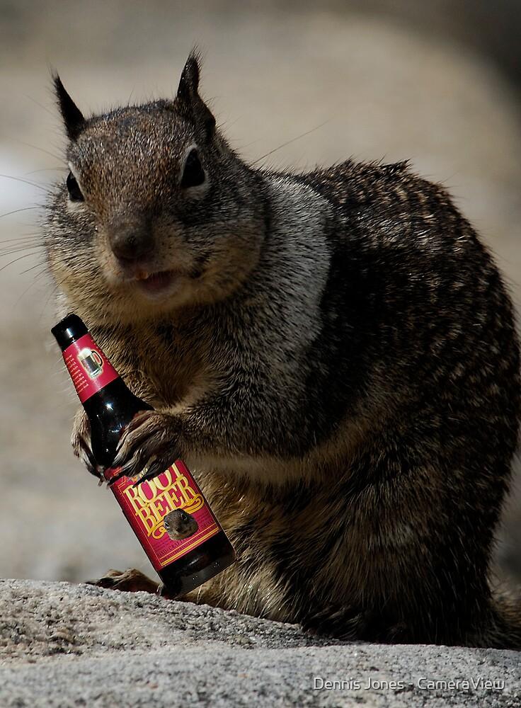 """""""I Love my Root Beer...."""" by Dennis Jones - CameraView"""