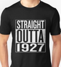 Straight Outta 1927 T-Shirt