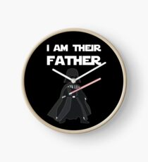 I AM THEIR FATHER Clock