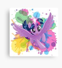 my little pony twilight sparkle Canvas Print