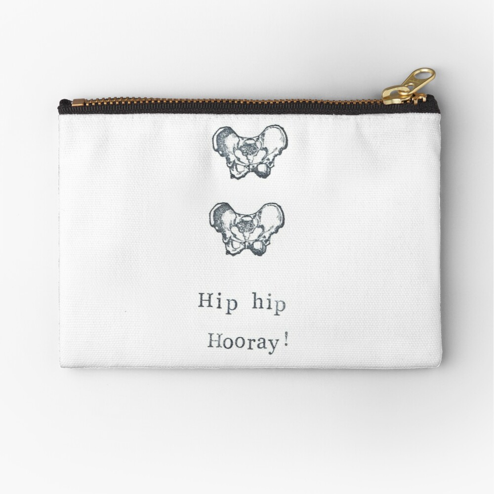 Hip Hip Hooray! Zipper Pouch