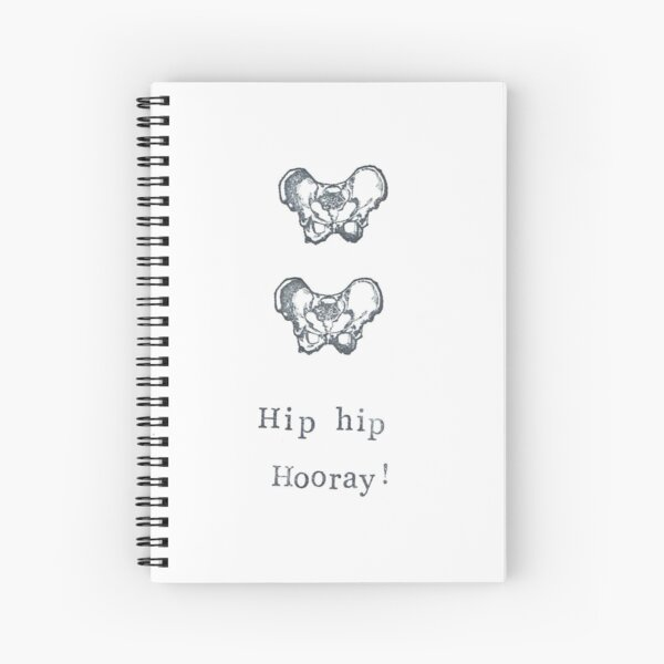 Hip Hip Hooray! Spiral Notebook