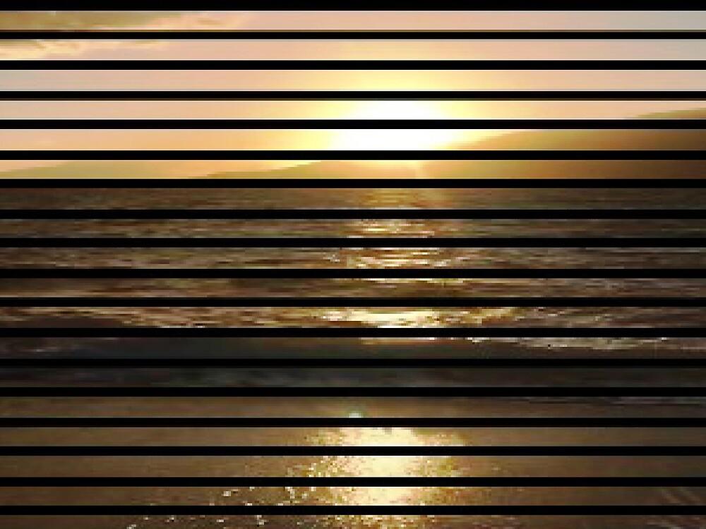 THRU THE WINDOW AT SUNSET by WhiteDove Studio kj gordon