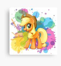 my little pony applejack Canvas Print