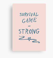 Survival - Strong Canvas Print