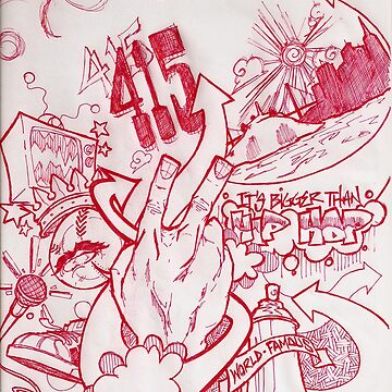 Bay Area Hip Hop by ashtonish