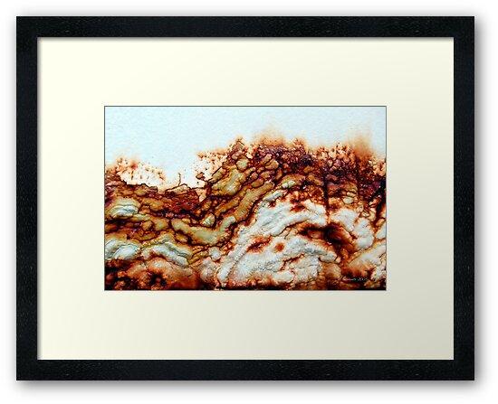 Rocky Cliffs by AsEyeSee