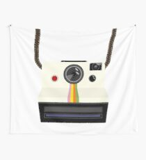 Retro camera with strap Wall Tapestry
