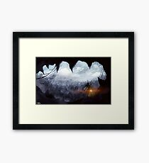 Rise of the Tomb Raider | Painting Framed Print