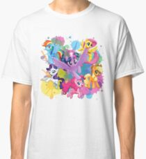 my little pony movie mane 6 Classic T-Shirt