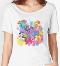 my little pony movie mane 6 Women's Relaxed Fit T-Shirt