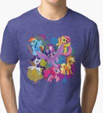 my little pony movie mane 6 Tri-blend T-Shirt