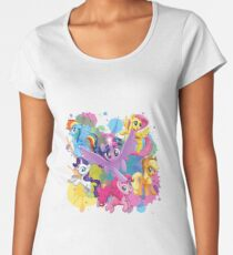 my little pony movie mane 6 Women's Premium T-Shirt