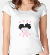 Carefree  Women's Fitted Scoop T-Shirt
