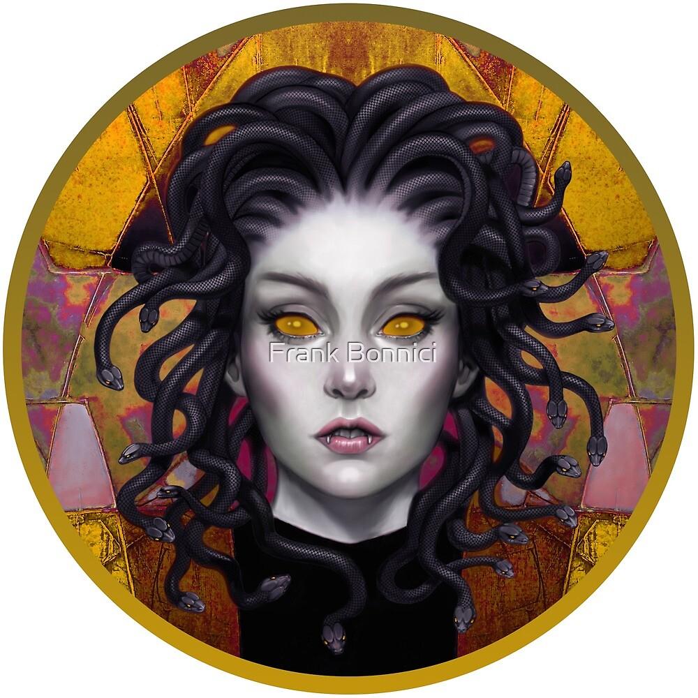 Medusa Eyes x by Frank Bonnici