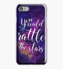 You could rattle the stars - Sarah J Maas iPhone Case/Skin