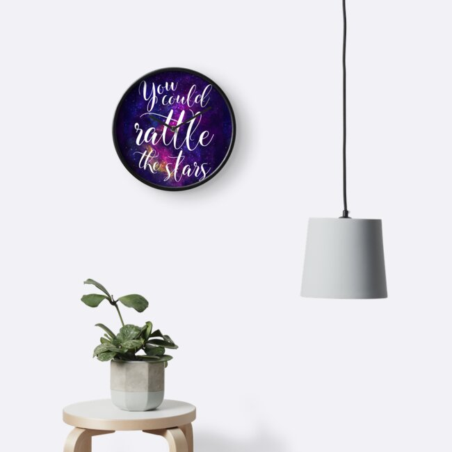 You Could Rattle The Stars Sarah J Maas Clocks By Chloe Lamplugh