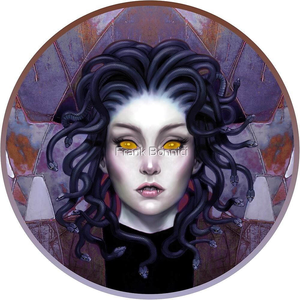 Medusa Eyes x2 by Frank Bonnici