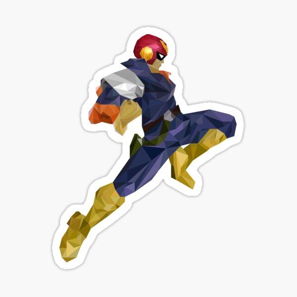 Captain Falcon Knee Sticker
