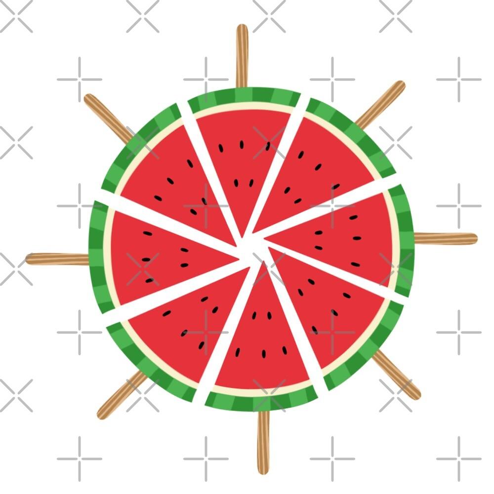 Watermelon Pop Wheel by Ohms-n-Wattson