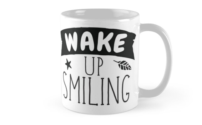 wake up smiling! by jazzydevil