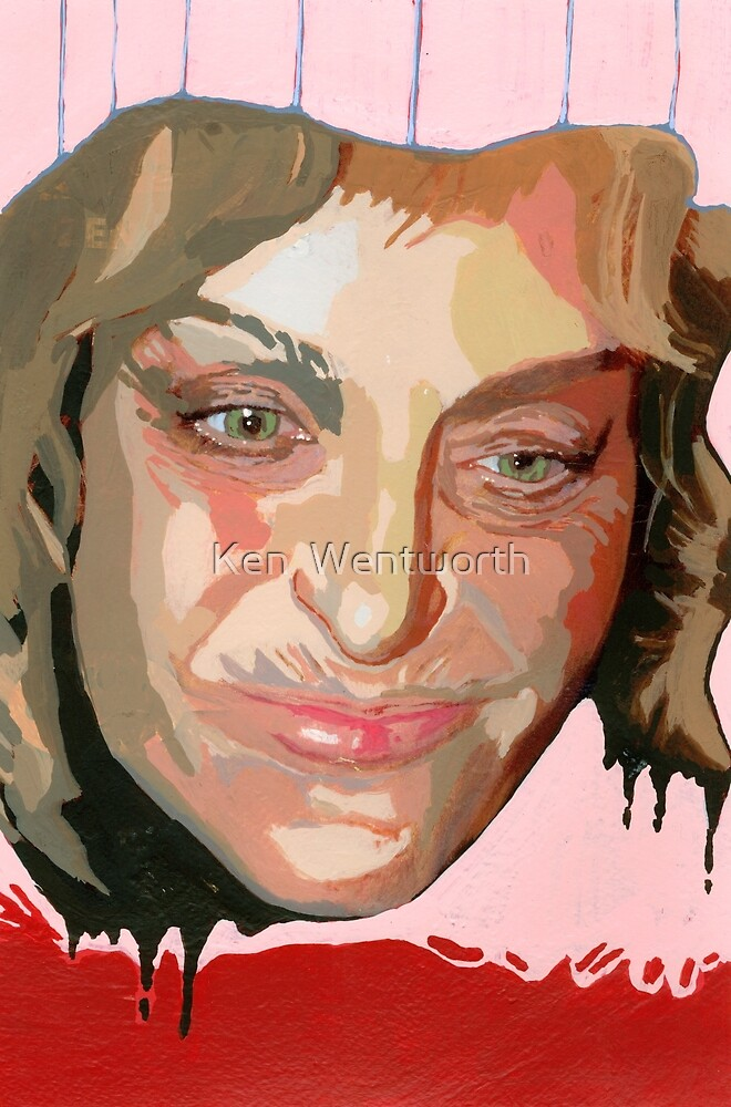 My identity hangs on my association with your collective threads. (Farrah Fawcett) by Ken  Wentworth