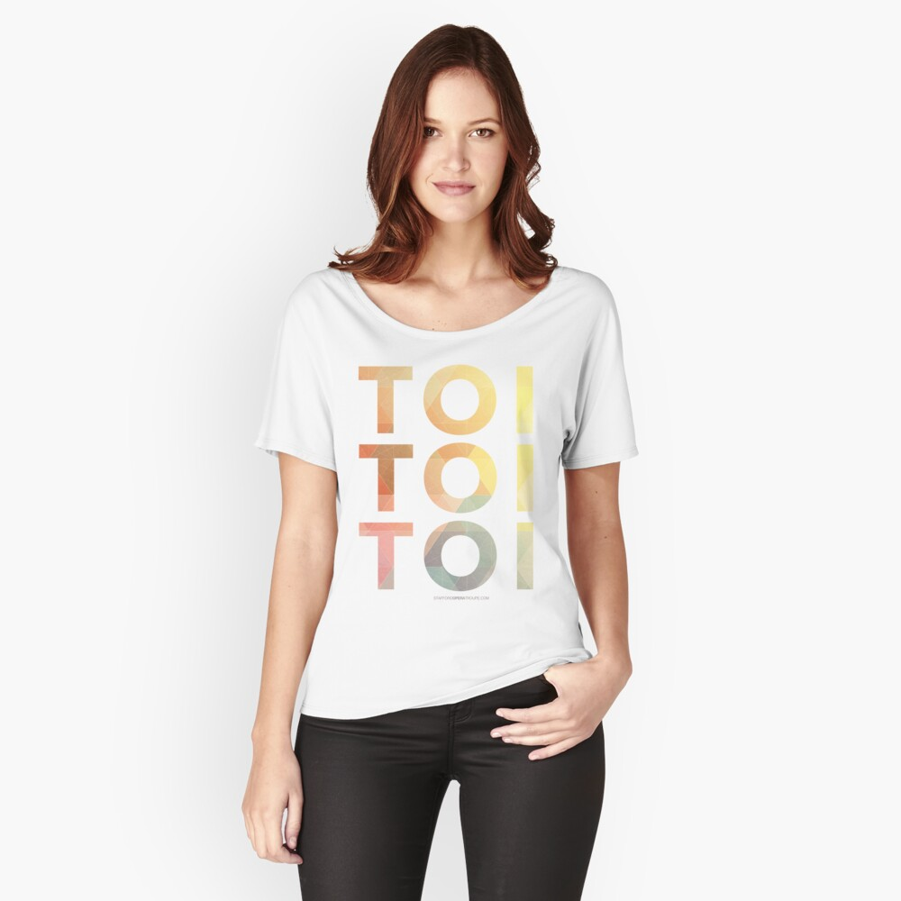 Toi Toi Toi Women's Relaxed Fit T-Shirt Front