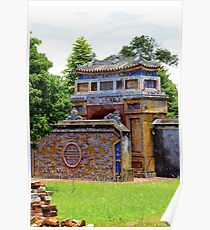 Gates of the Imperial City II - Hue, Vietnam.  Poster