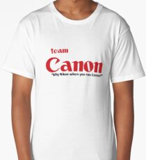 Team Canon! - why nikon when you can CANON. Long T-Shirt
