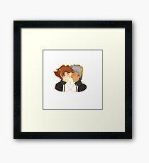 Yosuke/MC Framed Print