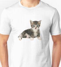 Stark Kitten V-Neck Graphic Tee (old Version) T-Shirt