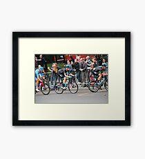 Bradley Wiggins - 2014 Tour of Britain Framed Print