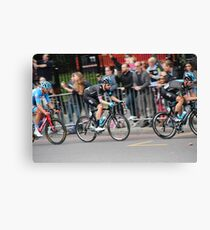 Bradley Wiggins - 2014 Tour of Britain Canvas Print