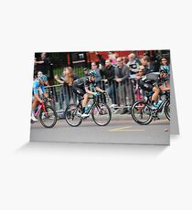 Bradley Wiggins - 2014 Tour of Britain Greeting Card