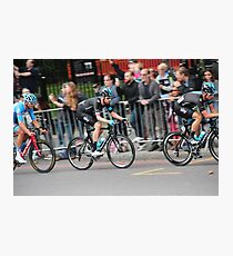 Bradley Wiggins - 2014 Tour of Britain Photographic Print