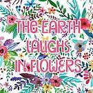 Die Erde lacht in Blumen von BekkaCampbell