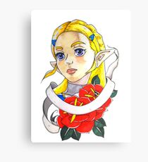 Zelda Rose Canvas Print