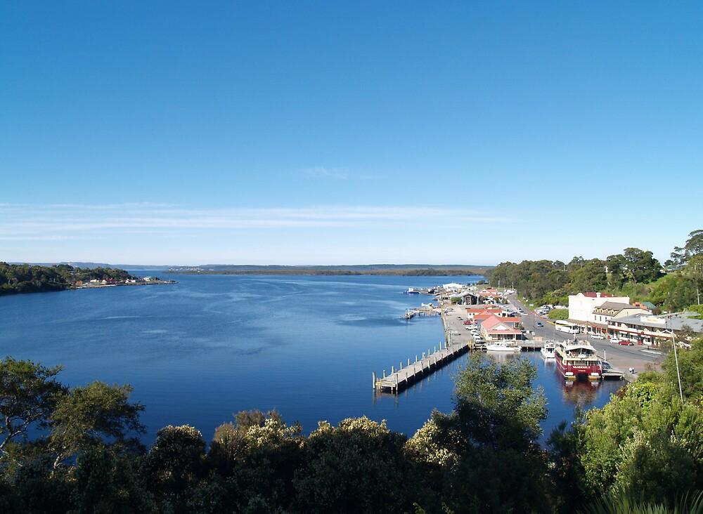 Strahan Harbor Tasmania by flash62au