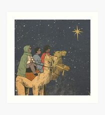 Three Wise Migos Art Art Print
